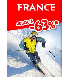 France jusqu'à -63%